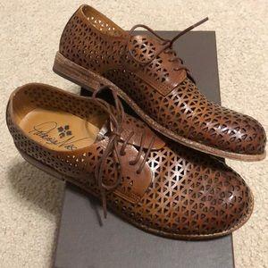PATRICIA NASH (SOFIA) Leather Loafer Shoe, Size 8